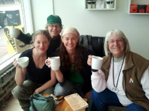 me laura bethany hanne coffee